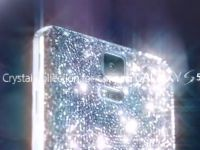 Cum va arata noul Samsung Galaxy S5 placat cu cristale Swarovski. Va fi lansat in luna mai