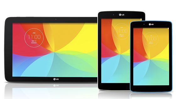 LG G Pad 7.0, G Pad 8.0 si G Pad 10.1, anuntate oficial. Cum arata gadgeturile