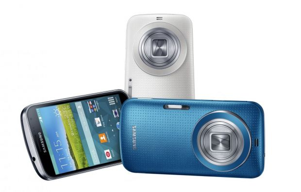 Samsung Galaxy K zoom, telefonul cu camera de 20,7MP, s-a lansat in Romania
