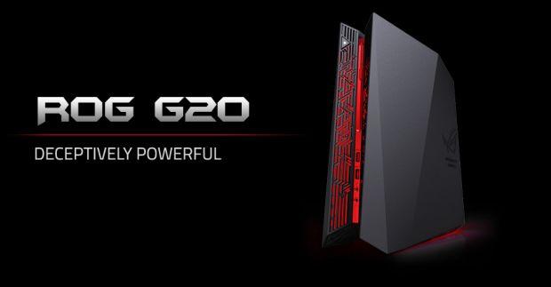 Asus prezinta cel mai puternic calculator compact de gaming: g20.