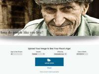 Un site pe care incarci o poza iti spune cat de mult vei trai