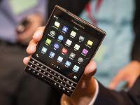 BlackBerry pregateste un nou telefon ciudat