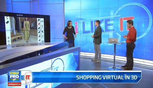 iLikeIT. Daniela Florescu, faimoasa romanca din Silicon Valley, revolutioneaza shopping-ul online. Cum ne imbracam virtual