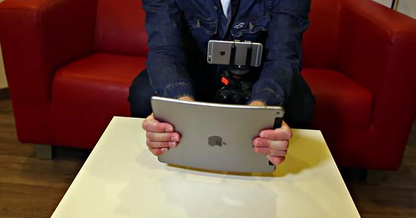 A vrut sa vada daca noul iPad Air 2 se indoaie. Cateva clipe mai tarziu plangea dupa tableta. Video