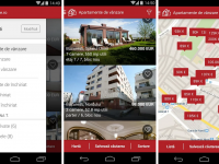 Aplicatia care te ajuta sa cauti direct pe harta apartamente de inchiriat sau cumparat