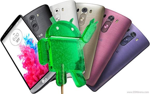 LG G3 va primi Android 5.0 Lollipop de saptamana viitoare
