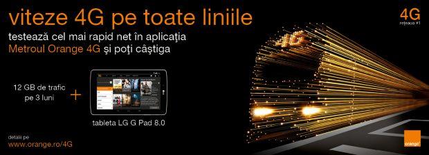 (P) Testeaza la metrou internet 4G de la Orange si bucura-te gratuit de filme, muzica, jocuri si carti audio