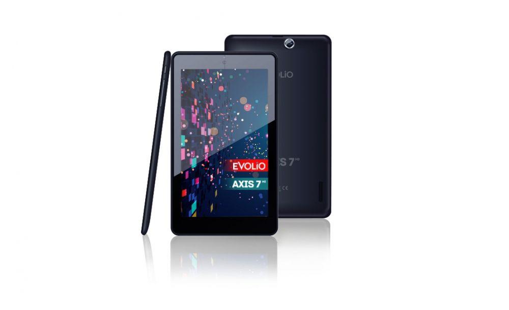Axis 7 HD. Evolio lanseaza o tableta quad-core de numai 75 euro
