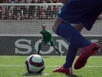 Cel mai bun portar din lume se fotografiaza in timp ce apara un penalty