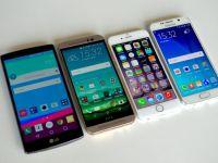 iPhone 6 e pe locul 3, LG G4 este pe locul 2! Care este cel mai performant telefon in acest moment