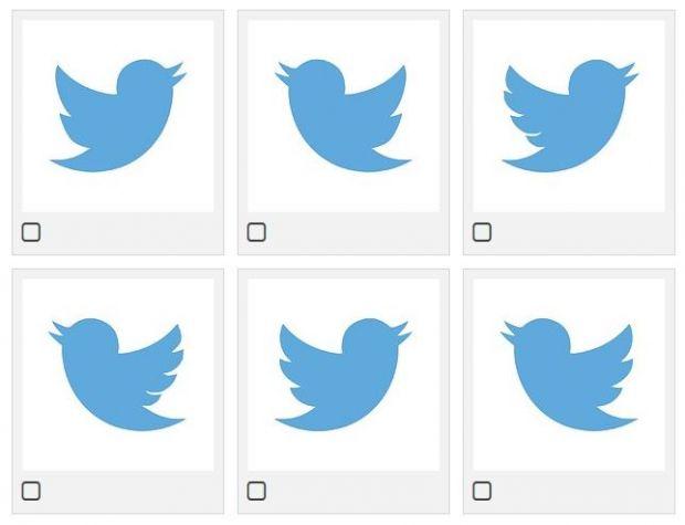 Tu poti ghici care este logo-ul Twitter in aceasta imagine? Doar un sfert din oameni raspund corect