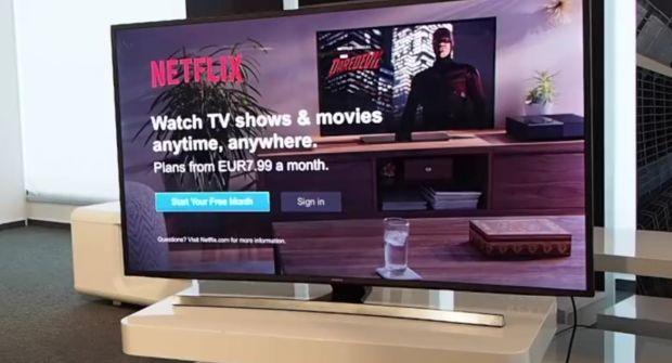 Samsung Romania a publicat un tutorial pentru cei care vor sa vada Netflix