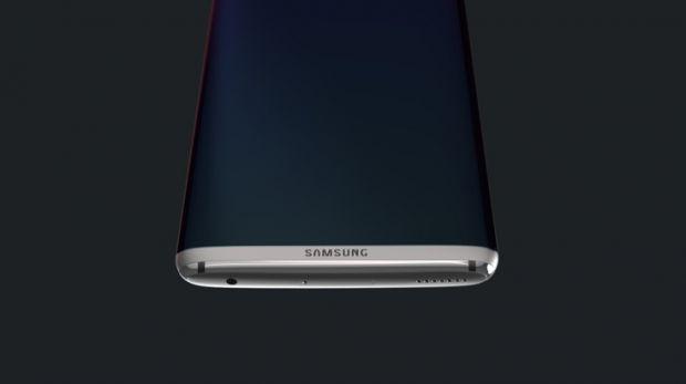 Design superb pentru Galaxy S8 Edge! Ar fi cel mai frumos telefon facut de Samsung