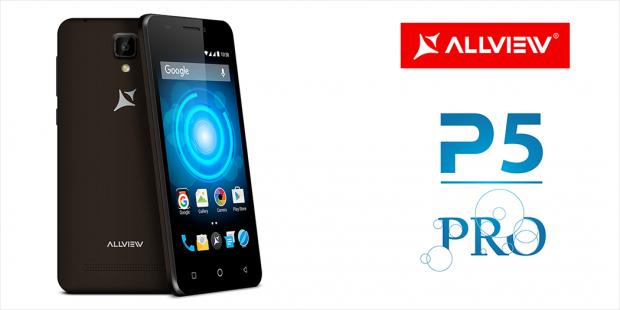 Allview lanseaza smartphone-ul P5 PRO, cel mai accesibil terminal 4G