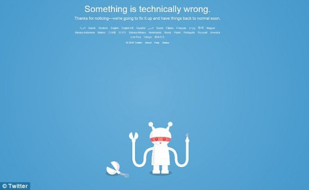 Twitter functioneaza din nou, dupa mai multe ore in care a fost aproape paralizat