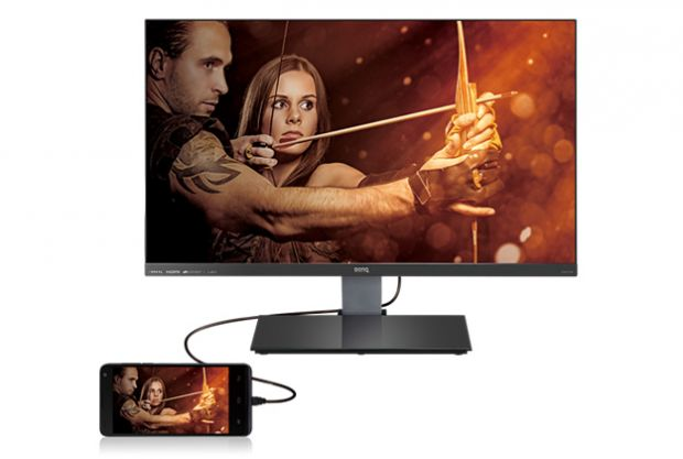 BenQ lanseaza monitorul  slim-bezel  EW2750ZL cu panel AMVA