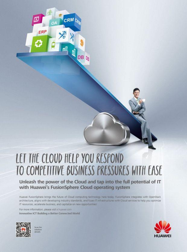 Huawei este recunoscut ca furnizor important pe piata globala a serviciilor private de cloud de catre Forrester Research Inc