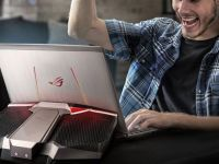 ASUS ROG GX700, primul laptop de gaming racit cu lichid a ajuns in Romania. Cat costa