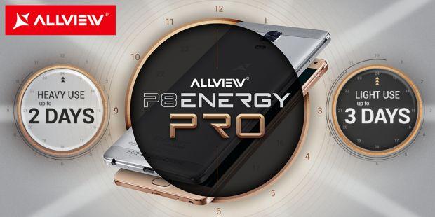 Allview lanseaza P8 Energy PRO, un telefon cu carcasa metalica, ecran de 6 inch si procesor octa-core. Acesta e pretul