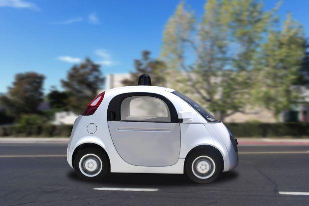 O masina autonoma Google, implicata intr-un accident cu un autobuz
