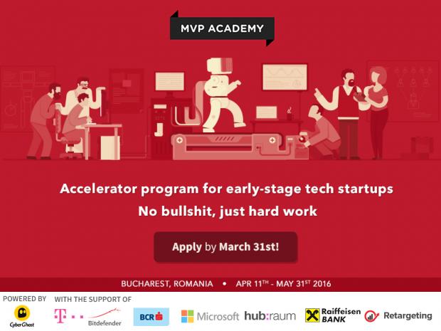 Investitii de 1 milion de dolari primite de startup-urile care au absolvit MVP Academy