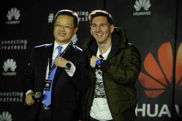 Lionel Messi a devenit ambasador global Huawei