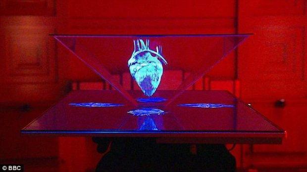 Hologramele, la un pas de realitate: BBC a inventat televizorul holografic