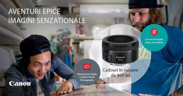 (P) Incepe aventura alaturi de Canon si surprinde imagini senzationale