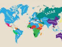 Infografic surprinzator. Care este a doua limba vorbita in Romania?