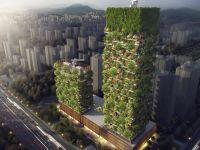 Proiect uimitor! Cladiri care vor produce peste 60 kg de oxigen zilnic