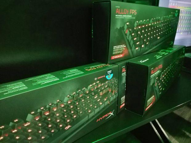 HyperX aduce in Romania tastatura mecanica de gaming Alloy FPS