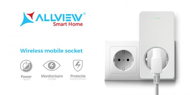 Allview isi consolideaza portofoliulde sisteme smart home si a lansat prizele inteligente