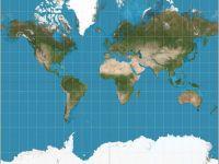 Harta lumii este gresita! Cum ar trebui sa arate de fapt, ca sa respecte realitatea