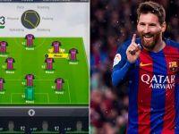 Ce se intampla cand alcatuiesti o echipa cu 11 de Messi in FIFA 17! VIDEO