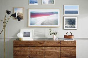 Samsung prezinta  televizorul invizibil , care se transforma in tablou