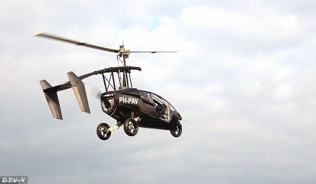 Anul acesta va fi produsa prima masina zburatoare din lume! Cum arata si cat va costa