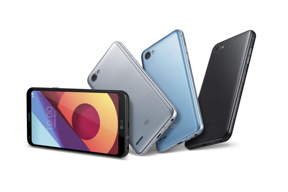 LG anunta trei telefoane din clasa de mijloc: Q6, Q6+ si Q6 alpha;! Ce au in comun cu flagship-ul G6