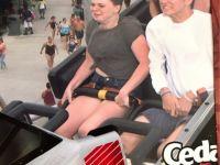 A urcat in rollercoaster, dar nu si-a asigurat telefonul mobil! Ce s-a intamplat dupa cateva secunde