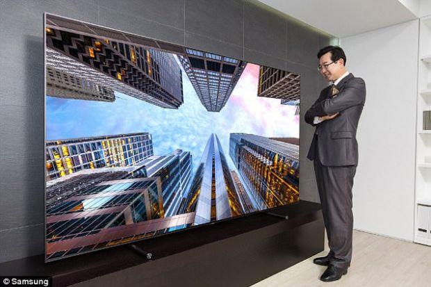 Samsung a prezentat televizorul cu ecran de 223 cm! Cat costa gadgetul care ofera  culoarea perfecta