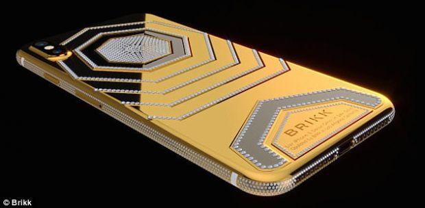 Ti se pare scump iPhone X? Iata cat costa versiunea de lux din aur masiv, incrustata cu diamante