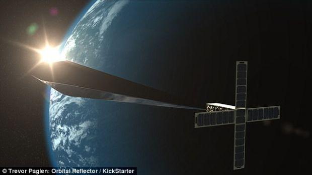 Proiect surprinzator! O stea artificiala va straluci pe cer timp de 2 luni