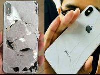 Abia l-au cumparat ca s-a facut praf! Cum arata iPhone X dupa ce a fost scapat pe jos