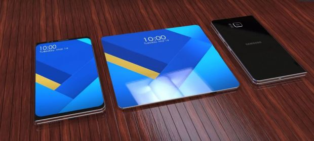Samsung pregateste Galaxy X: primul smartphone pliabil, care se poate indoi