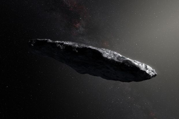 Noi informatii despre misteriosul asteroid Oumuamua! Cercetatorii au observat un  invelis organic