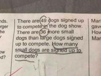 Stii rezultatul? Nimeni nu a rezolvat corect aceasta problema de matematica pentru clasa I