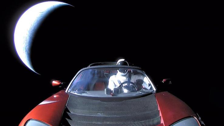 Unde va ajunge masina lansata de Elon Musk in spatiu? Cercetatorii au aflat traiectoria