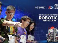 Elevii de liceu invata sa construiasca roboti in cadrul celui mai mare concurs de profil din Romania