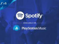 Spotify este de acum disponibil si pe PlayStation 4