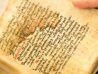 Acest manuscris contine un text ascuns, care poate fi citit doar cu raze X