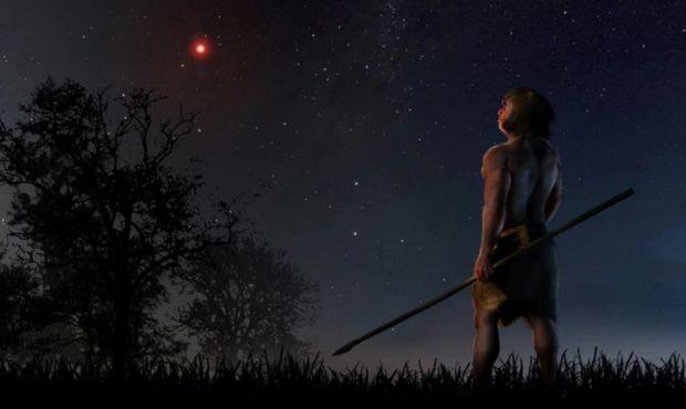 Cu 70.000 de ani in urma, o stea rosie a trecut prin apropierea Soarelui